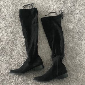 Journee Collection Maya Wide Calf Thigh High Boots